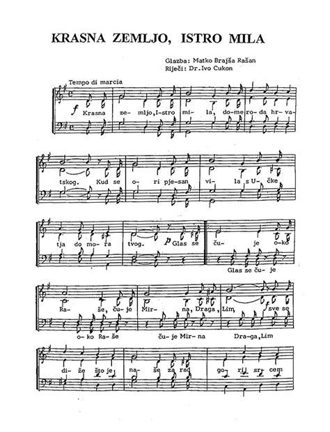 Himna - note