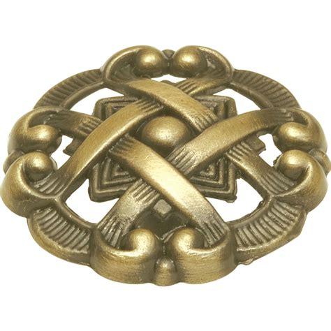 antique brass cabinet knobs shop hickory hardware cavalier antique brass round cabinet