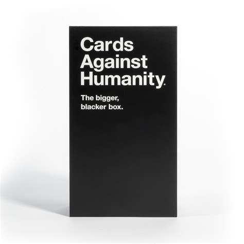 We did not find results for: Cards Against Humanity The Bigger Blacker Box - Walmart.com - Walmart.com