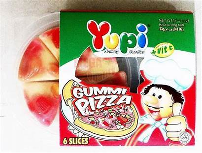 Gummy Ean Juice Fruit Gummi Yupi Pizza