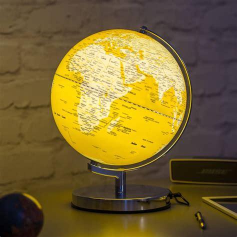 in light globes illuminated led globe light in english mustard by