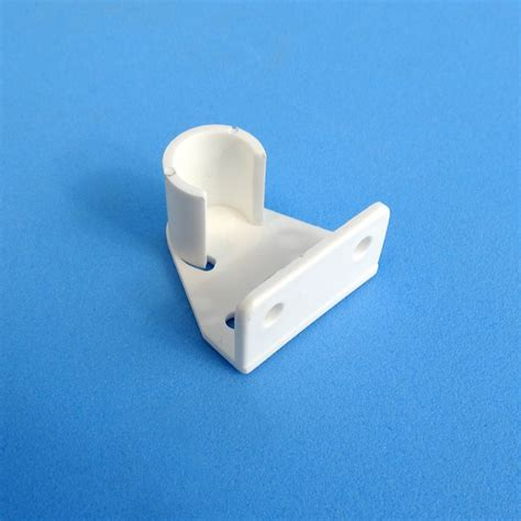 caravansplus curtain rod holder muslin bracket white
