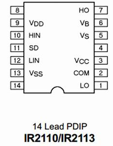ir2113s datasheet pdf international rectifier With mosfets the ir2110 mosfet driver integrated circuit was chosen