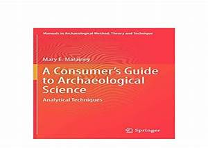 Hardcover  Library   A Consumers Guide To Archaeological