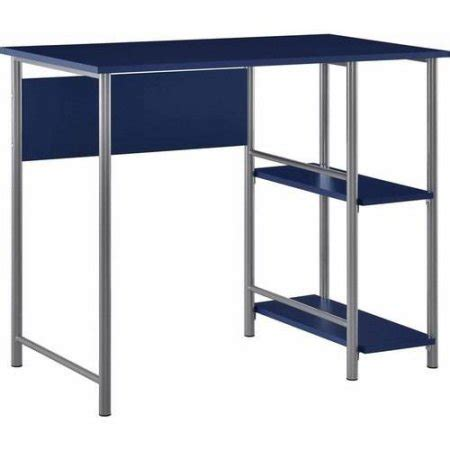 mainstays computer desk with side shelves instructions mainstays basic student desk sturdy metal frame accented
