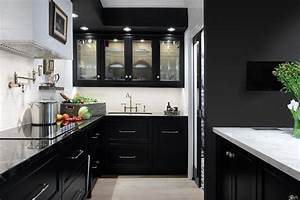 Give, Your, Kitchen, A, Black, Makeover, In, These, Five, Ways