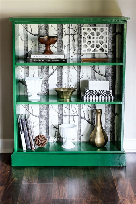 Painted Billy Bookcase by Ikea Billy Bookcase Makeover Erin Spain