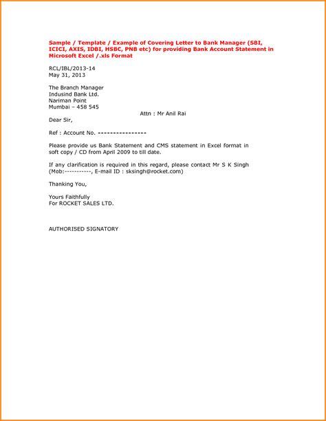 request letter  bank statement excel format stabnet