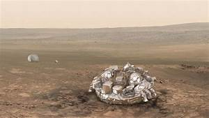 Mars Landing! Ringside Seat Rover May Catch Schiaparelli ...