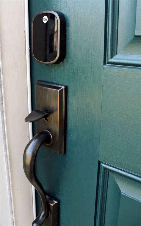 installed  electronic keyless door lock tag