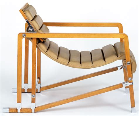 fauteuil chaise longue eileen gray mdba