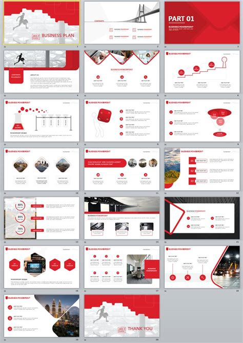 Business Template 2017 Business Plan Powerpoint Template The Highest
