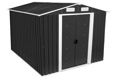 Zelsius Gerätehaus Geräteschuppen 8m² Xl Metall Gartenhaus