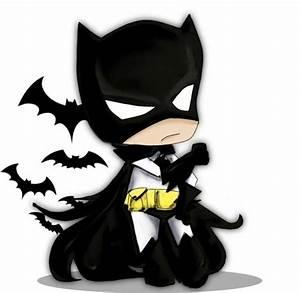 16 Best Photos of Cute Cartoon Batman - Chibi Batman ...
