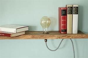 Bücherregal Selber Bauen Holz : vintage lampen im holzregal diy hier kannst du sie ~ Lizthompson.info Haus und Dekorationen