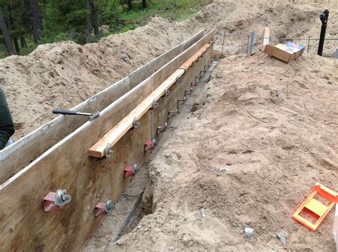 plywood concrete wall form ties