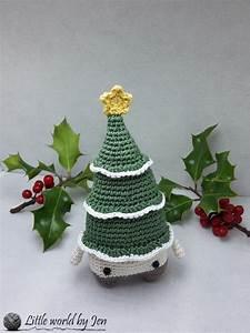 Tuto Sapin De Noel Au Crochet : xaver le sapin de noel amigurumi crochet marron vert jaune et blanc enfants cadeaux naissance ~ Farleysfitness.com Idées de Décoration