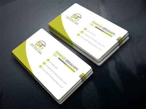 design awesome  professional business  visiting