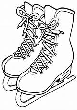 Skates Coloring Pages Print sketch template