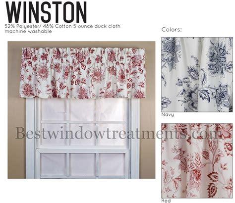 winston toile tailored valance window treatments www