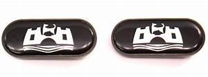 Wolfsburg Fender Side Marker Emblems Badges 95