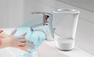 An Interactive Soap Dispenser That Educates Kids About