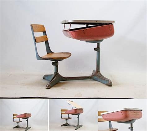 way back when school desk grassrootsmodern