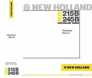 New Holland Kobelco E215b E245b Crawler Excavator Pdf