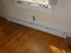 Help Me Fix It  Installing A Baseboard Heater And Remote