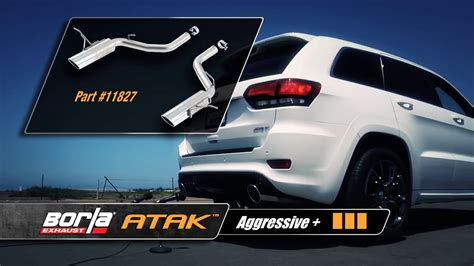 2012-2014 Jeep Grand Cherokee Srt8 Performance Exhaust