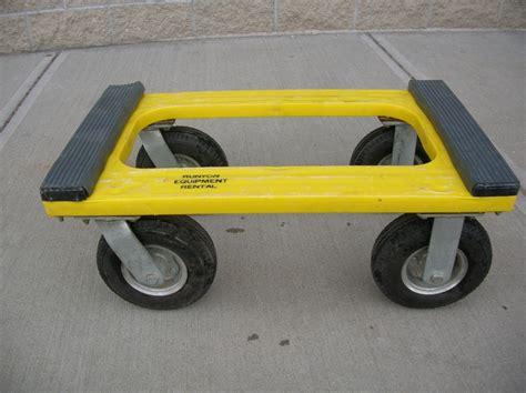 4 wheel big tire dolly runyon equipment rental