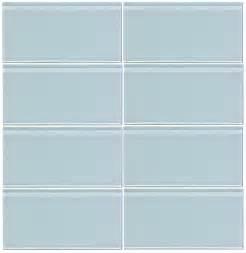 blue subway tile vapor blue glass 3x6 subway tile 8mm