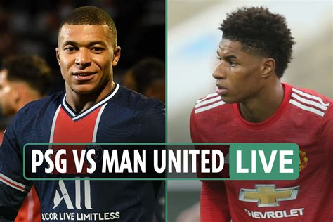 PSG vs Man Utd LIVE: Stream FREE, TV channel, team news as ...