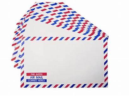 Envelope Airmail Clipart Mail Air Transparent Envelopes
