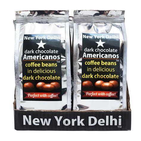I'll also reveal the common 'choosing beans' mistake that. Americanos Coffee beans in Dark Chocolate Case of 12 x 63g - New York Delhi - World Deli Taste.