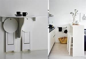 Table Murale Cuisine : table murale rabattable pas cher ~ Teatrodelosmanantiales.com Idées de Décoration