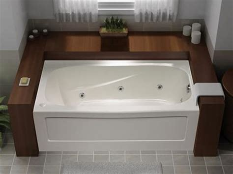 How To Fit A Bathtub In A Small Bathroom by Bathtubs Whirlpools The Home Depot Canada Within 58 Inch