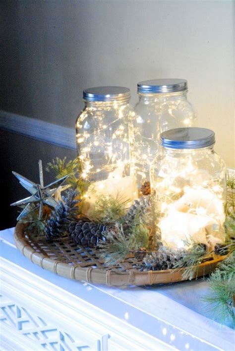 how to decorate christmas lights diy table centerpieces ideas my easy recipes