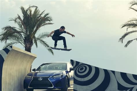 video lexus finally unveils  working hoverboard  motion