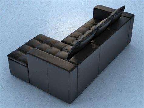 boconcept chaise mezzo sofa 3d model boconcept