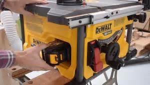 making  table  sled   dewalt flexvolt