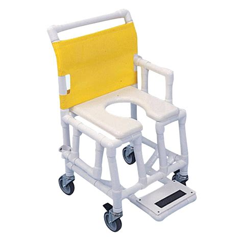 Pvc Commode Chair by Aqua Creek Lightweight Pvc Shower Commode Chair Shower
