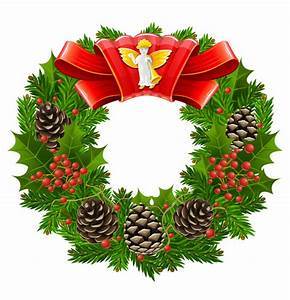 Christmas wreath cool texture vector Free Vector / 4Vector