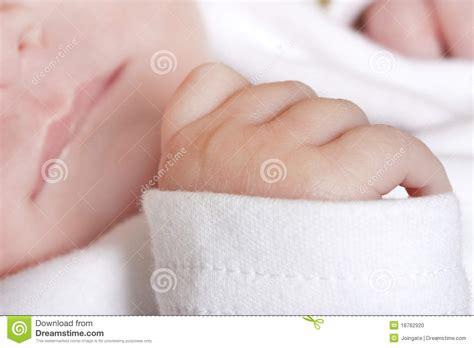 Close Up Of Newborn Babies Hand Stock Photo Image 18762920