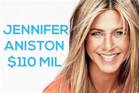 actress jennifer aniston net worth richest actresses in the world 2014 top 10 alux