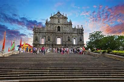 Macau Paul Ruins St China Ruin Visa