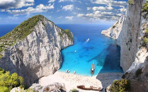 zaykanthos island beach greece wallpapers hd wallpapers