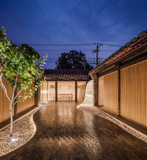 beijing courtyard home  archstudio balances modern