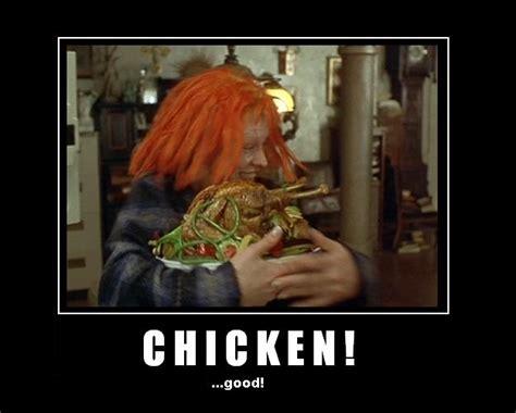 Fifth Element Meme - leeloo loves chicken by thehande on deviantart