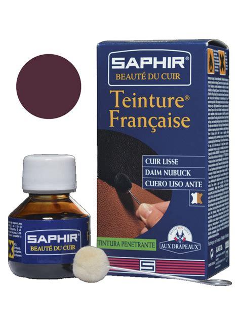 teinture pour canapé en cuir produit saphir pour teinter le cuir en bordeaux